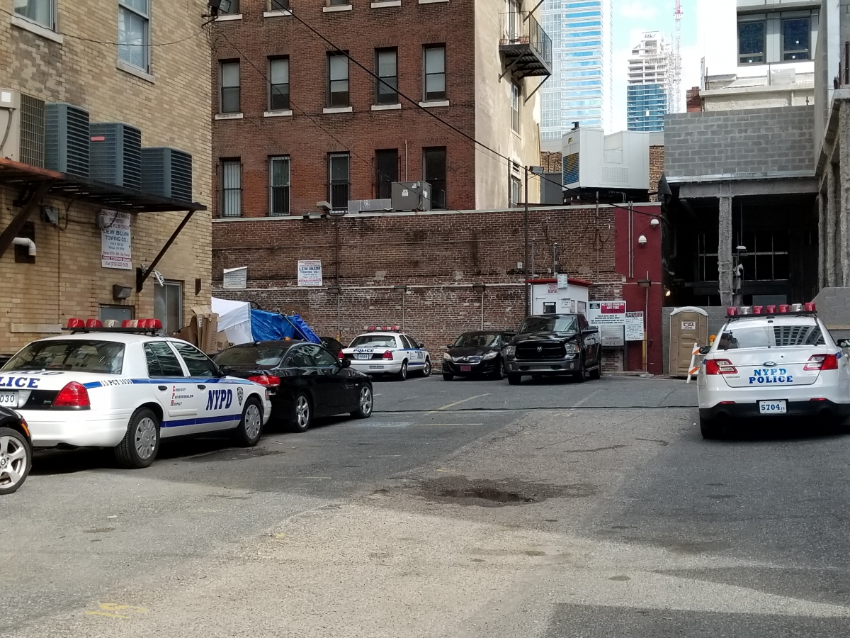 17 Bridges, NYPD in PHL, On Location at 20th & Sansom Streets