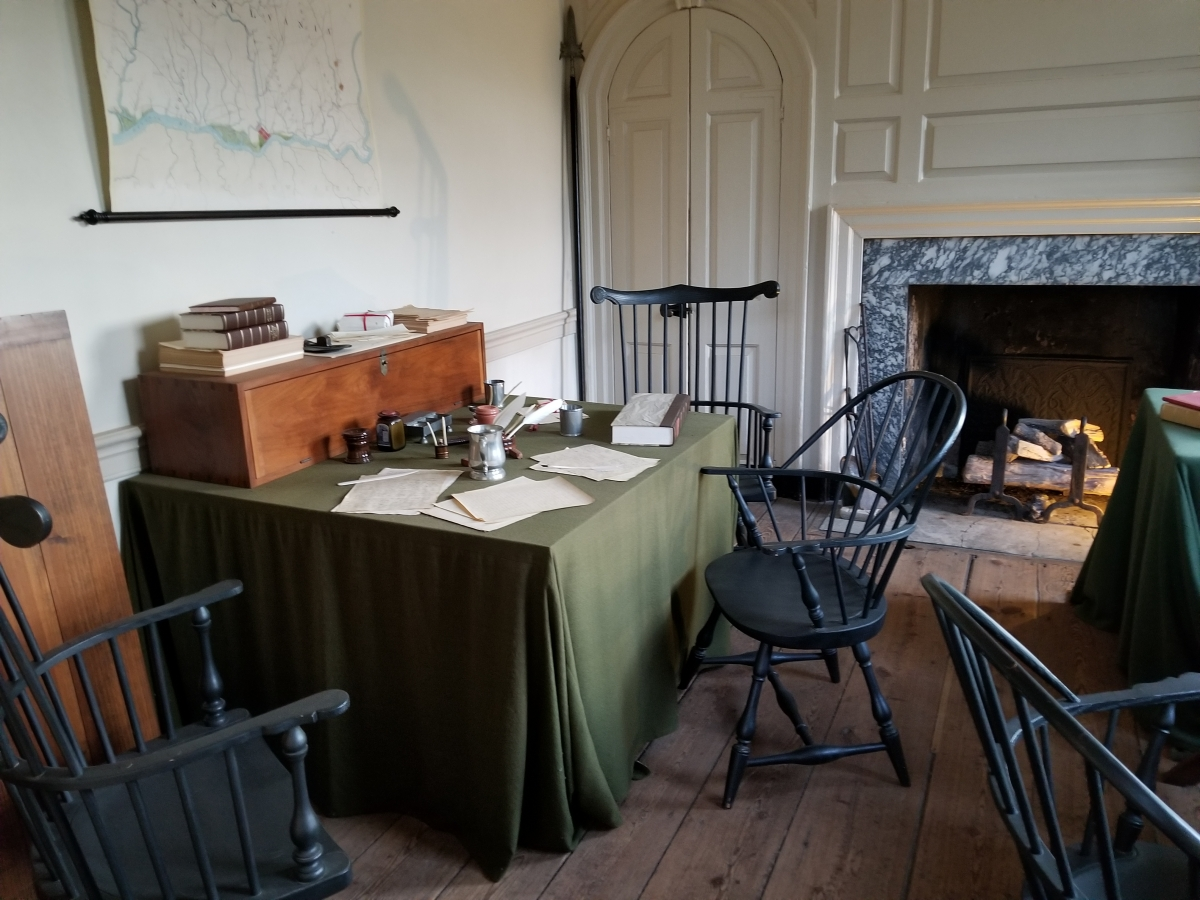 Washington's Headquarters - Valley Forge National Historical Park