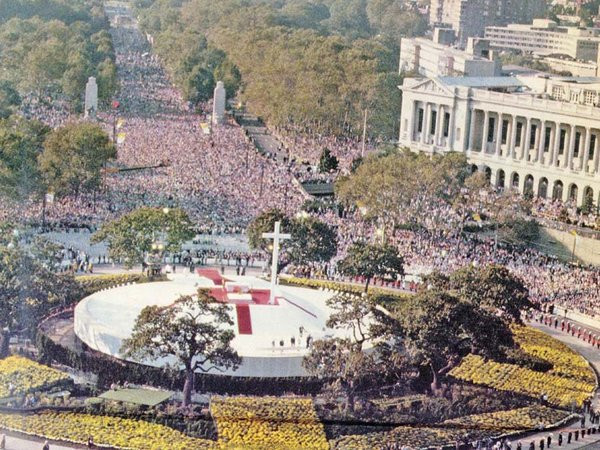 1979 Papal Mass In Philadelphia - Source: The Philadelphia Inquirer