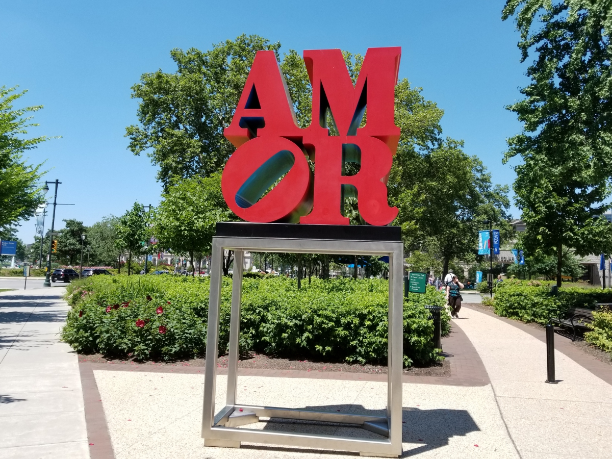AMOR Statue at Sister Cities Park