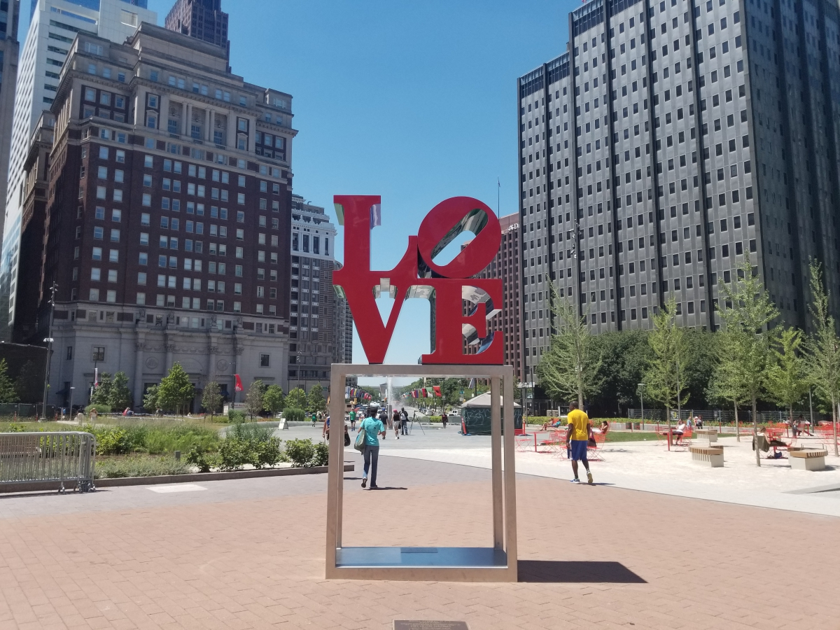 LOVE Statue by Robert Indiana