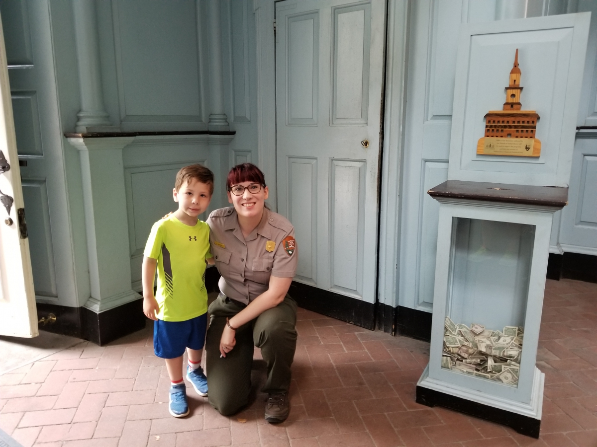 A Junior Ranger Explores Independence Hall