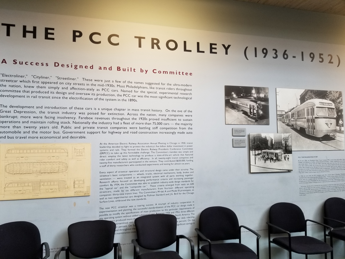 Information on 1947 PCC Trolley