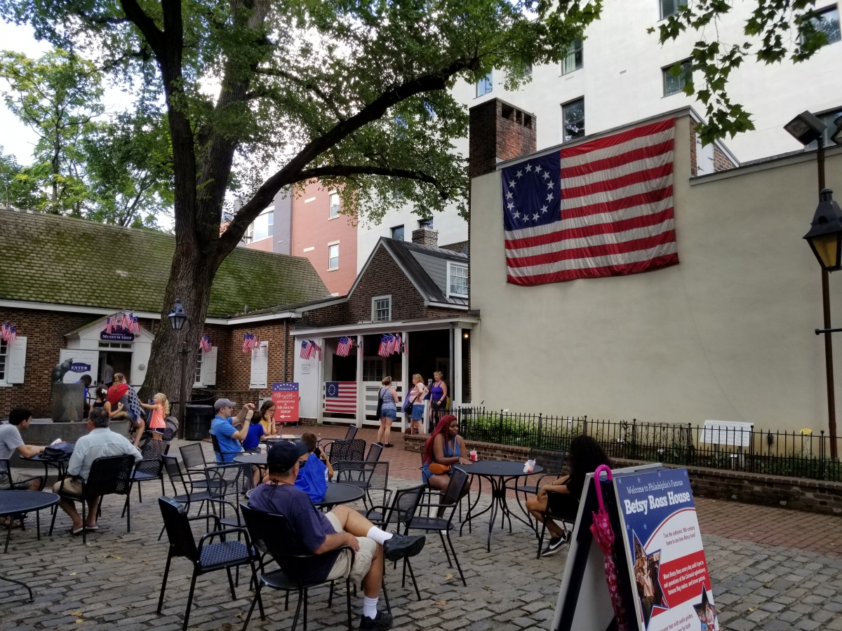 The Betsy Ross House, Birthplace of the American Flag ...