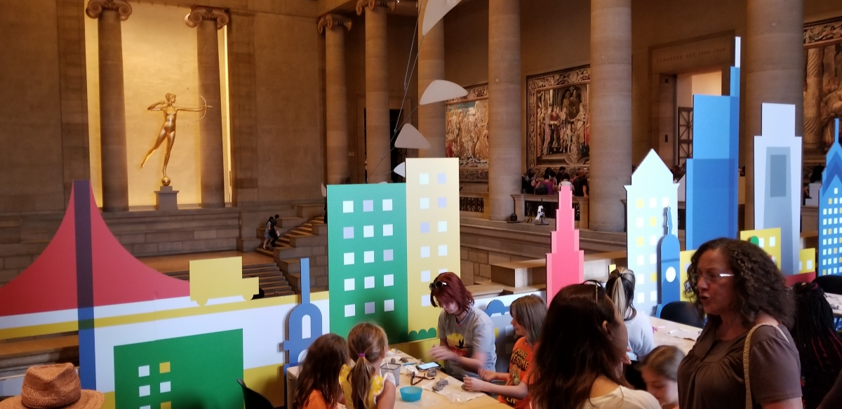 Philadelphia Museum of Art - Arts and Crafts for Kids