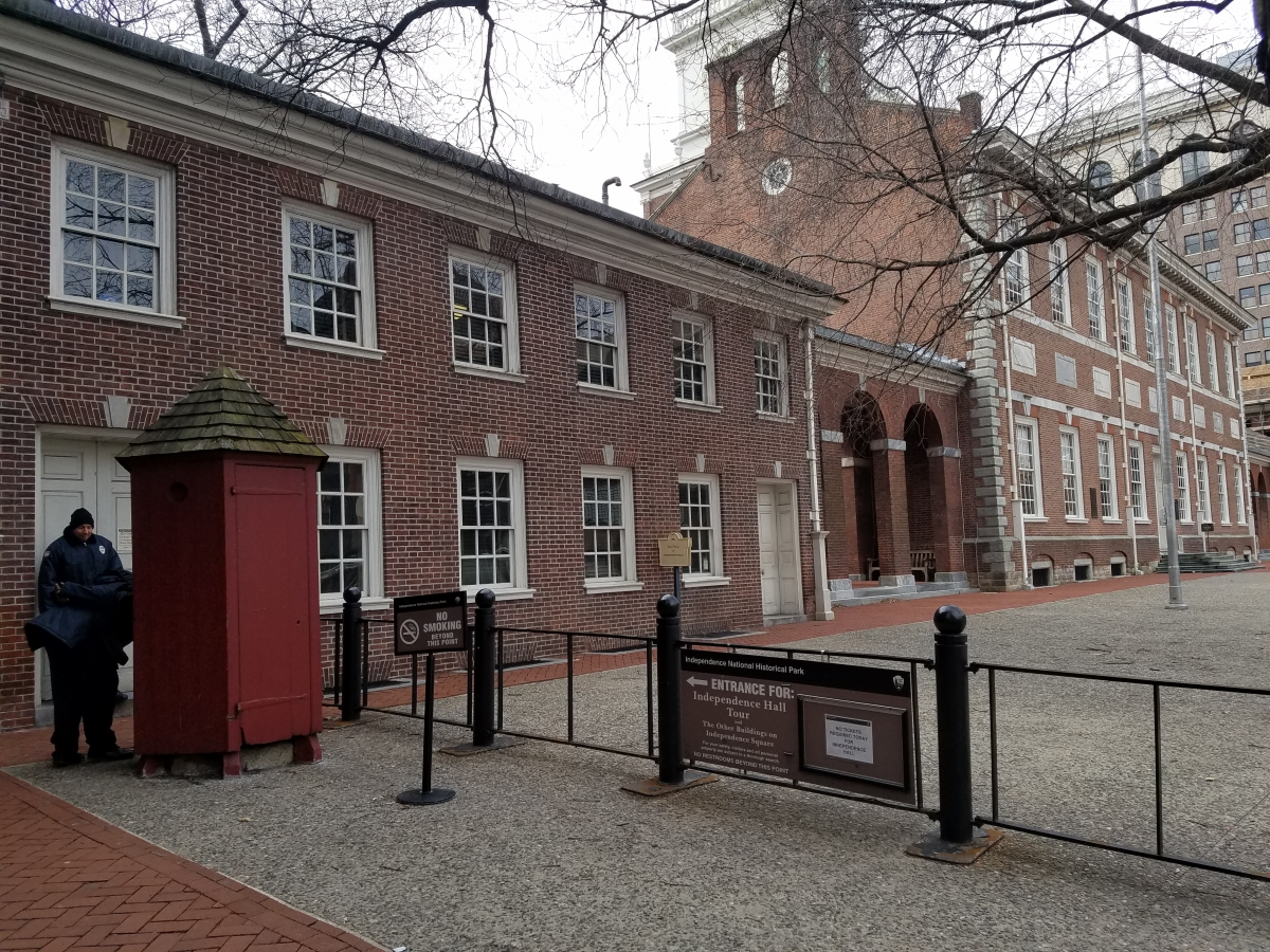 Security Checkpoint for Independence Hall