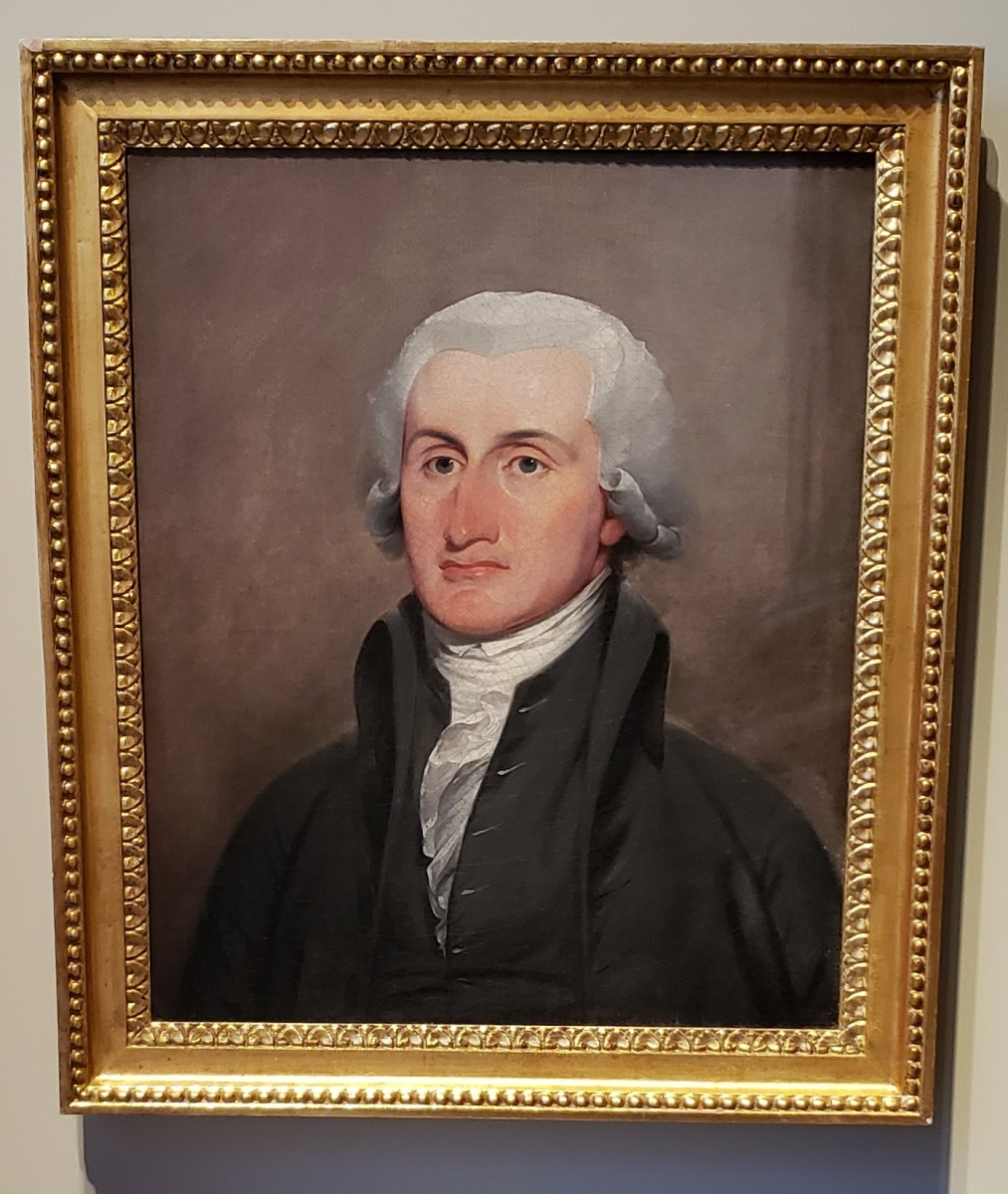 John Jay Portrait located in the Second Bank of the United States Portrait Gallery