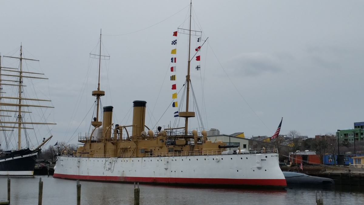 Olympia, Historic Steel Warship