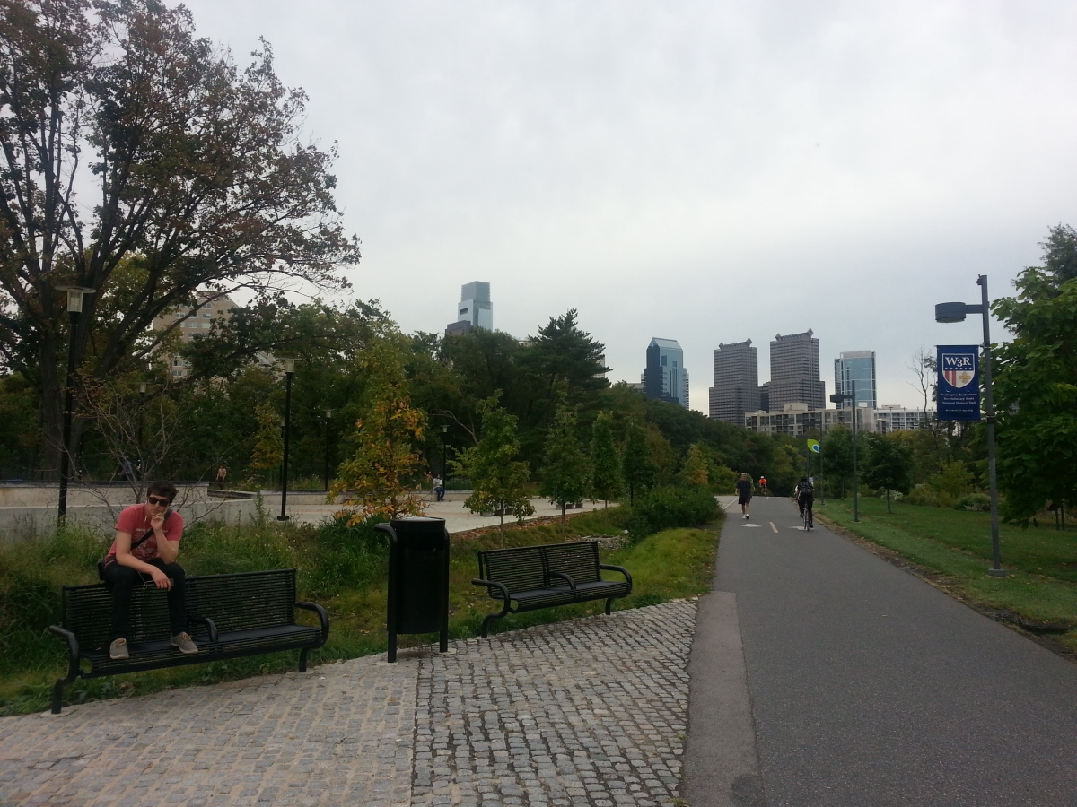 Paine's Park with view of Center City skyline in the Background