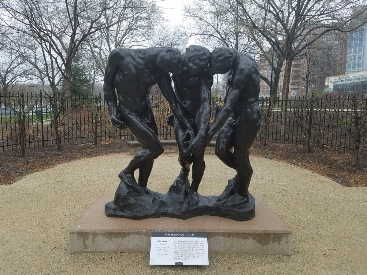 """The Three Shades"" - Rodin Museum, Philadelphia"