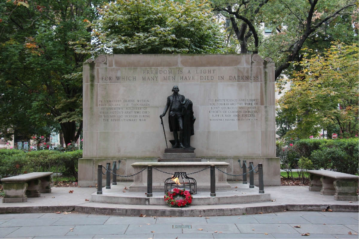 Tomb of the Unknown Soldier of the Revolutionary War