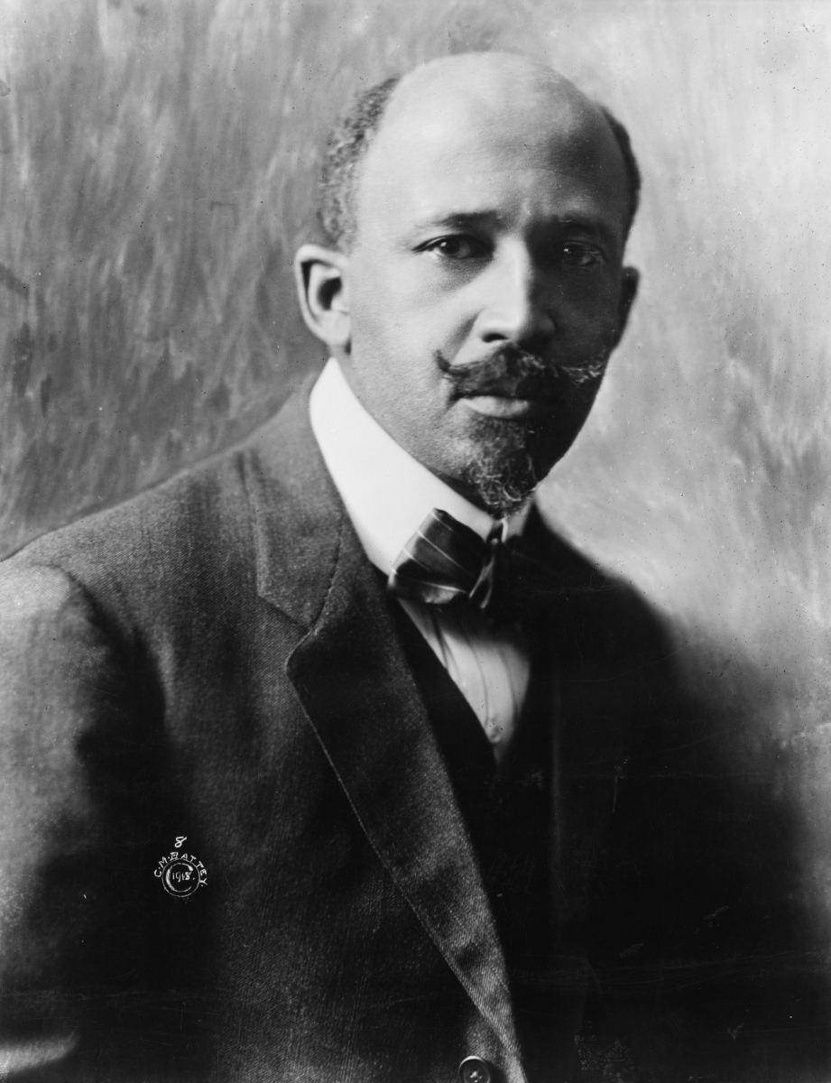 W.E.B. Du Bois, 1918 - Photo Credit: Library of Congress