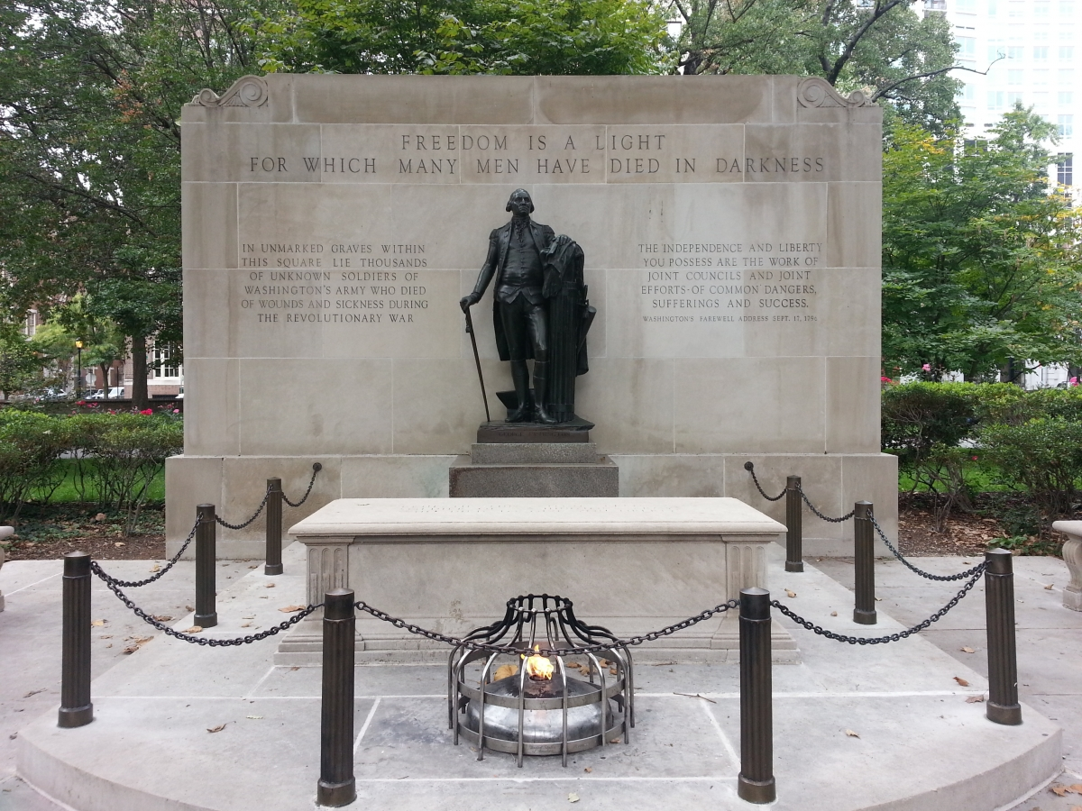 The Tomb of the Unknown Soldier at Washington Park