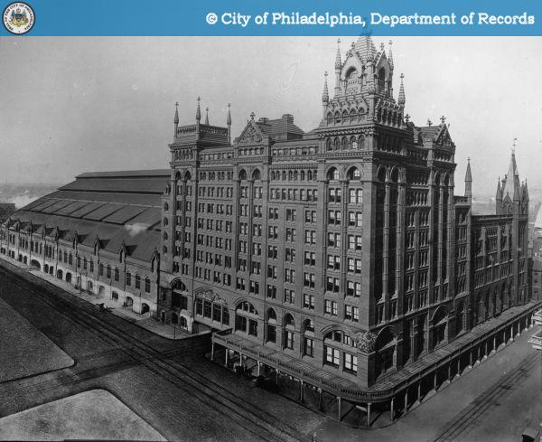 Broad Street Station - Copyright - The City of Philadelphia Department of Records