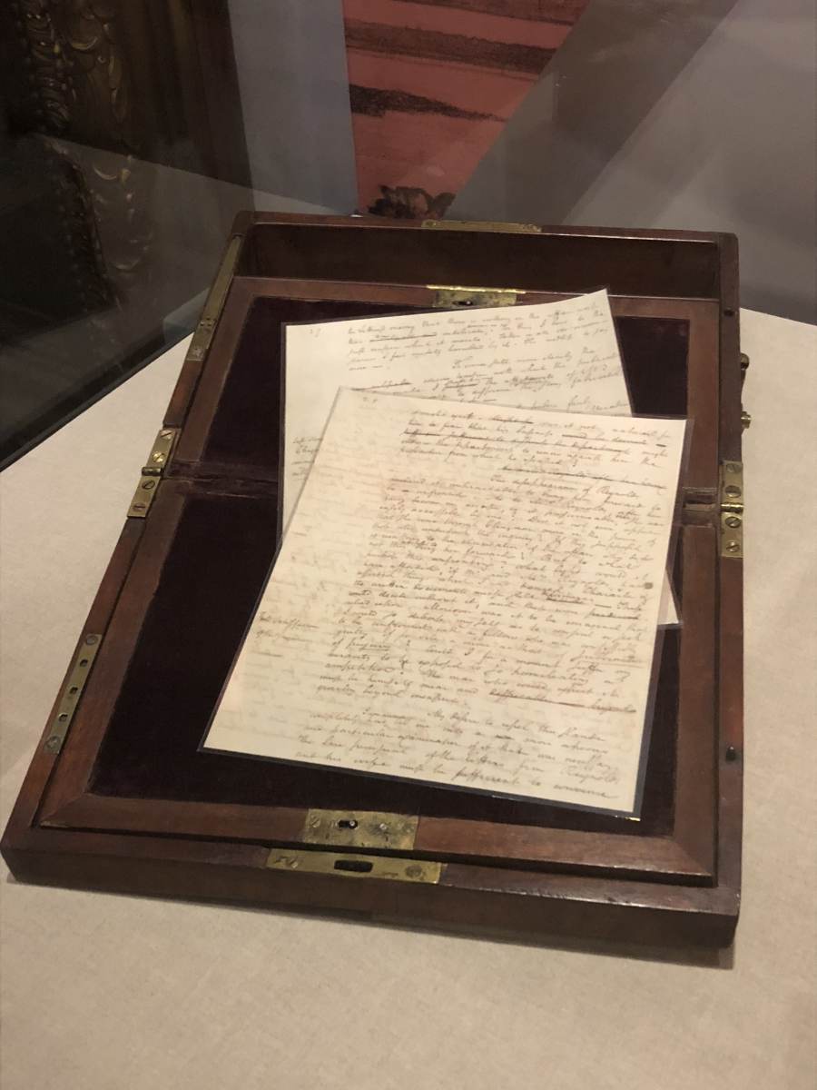 Alexander Hamilton's Letters in National Constitution Center Exhibit