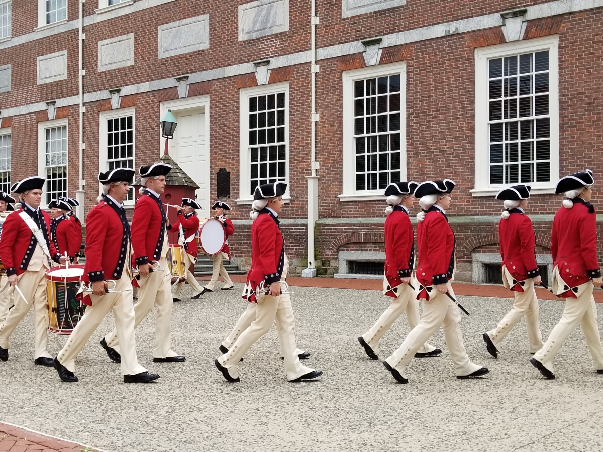 Colonial Fife and Drum at Independence Hall