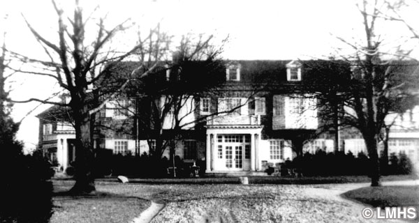 Hagenlocher and then Pew Residence, Rolling Hill Park, 1911, Credit-Lower Merion Historical Society
