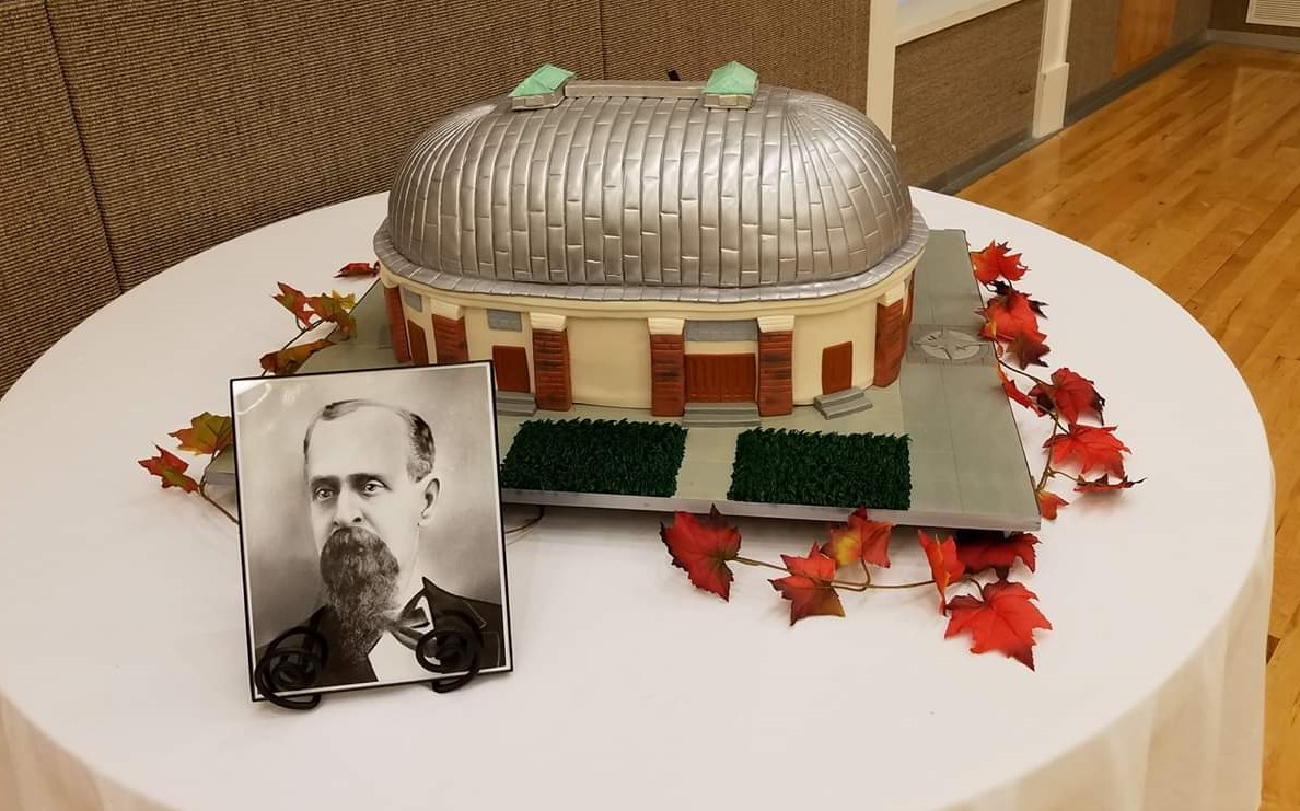 Henry Grow, Jr. 200th Birthday Celebration, October 14, 2017, Featuring a Cake of the Salt Lake City Tabernacle by Carlo's Bakery of Cake Boss