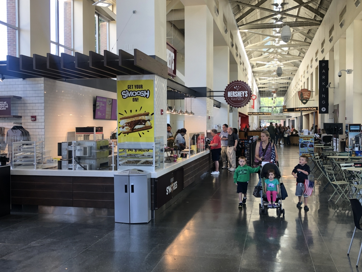 Hershey's Kitchen Cafe - Independence Visitor Center