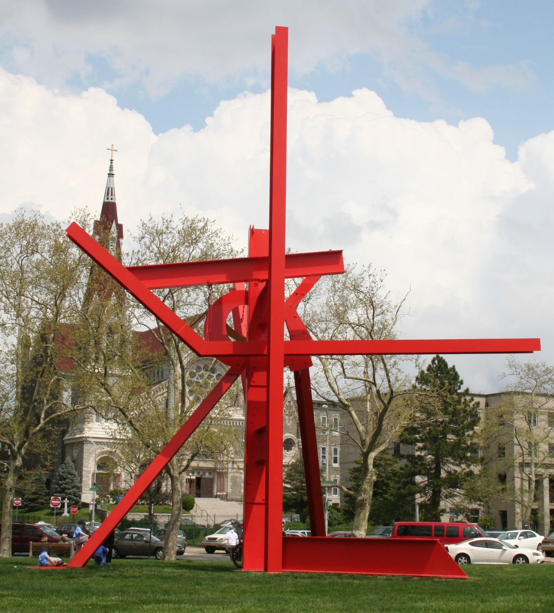 Iroquois By Mark di Suvero