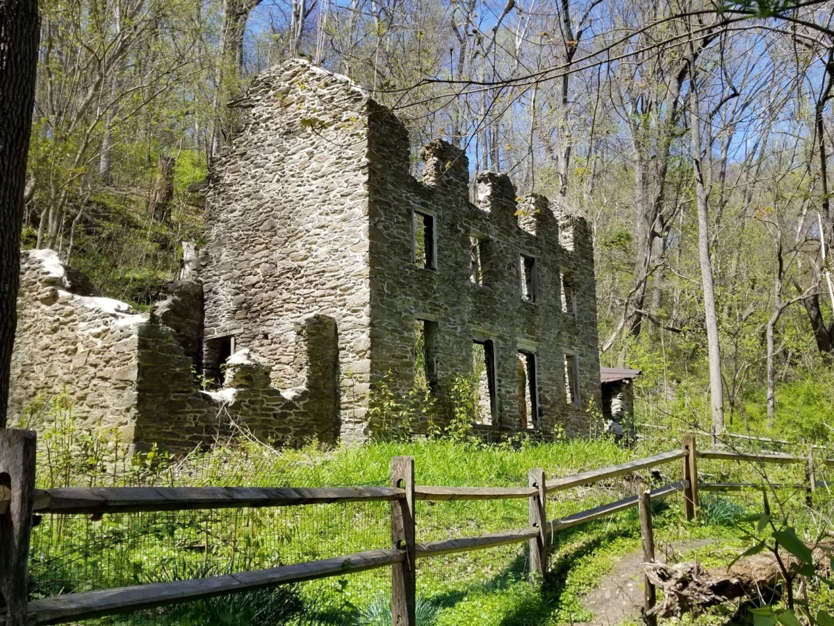 Rolling Hill Park, Ruins of Old Mills, Gladwyne, PA