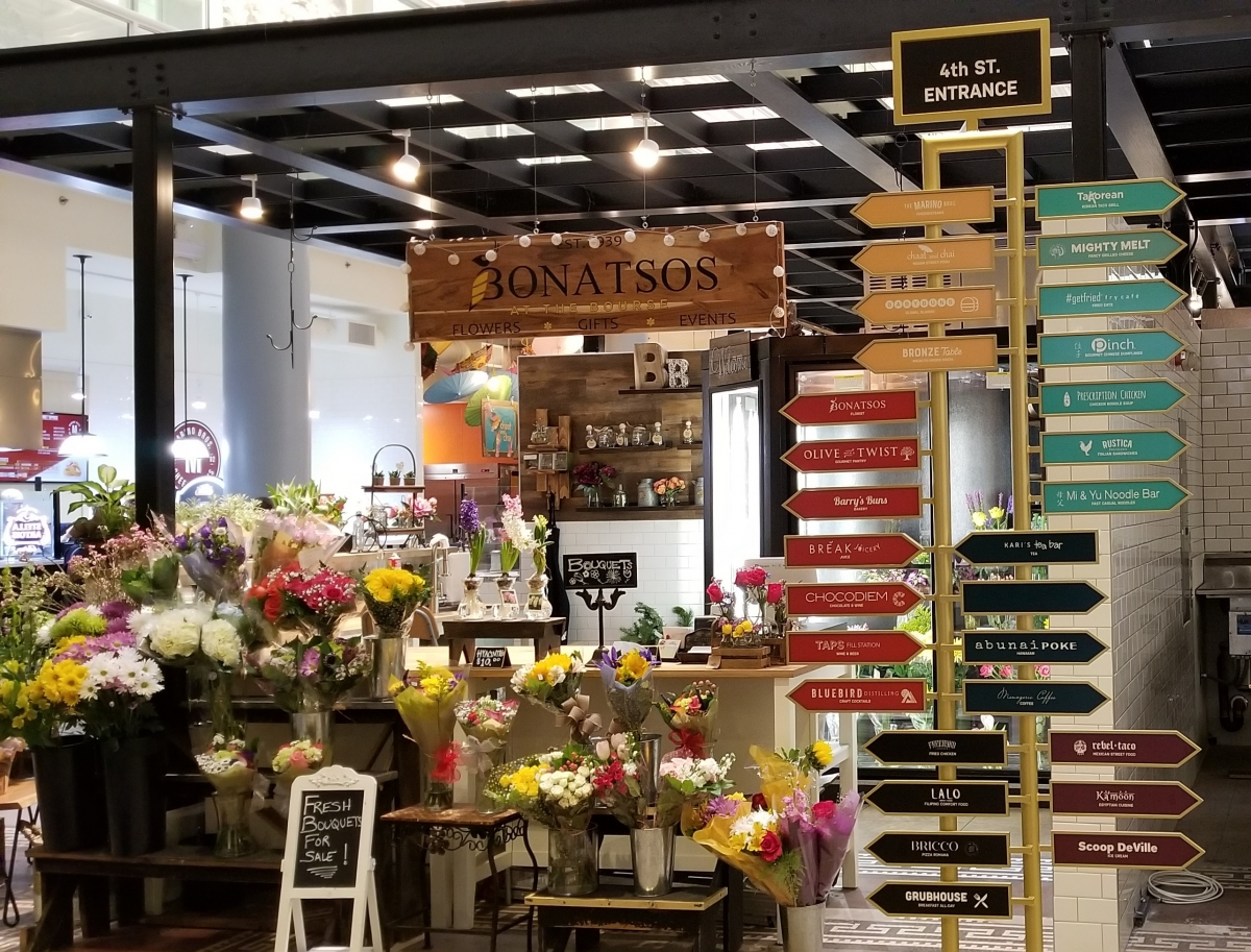 The Bourse - Eat, Drink, Shop at Landmark Food Hall in