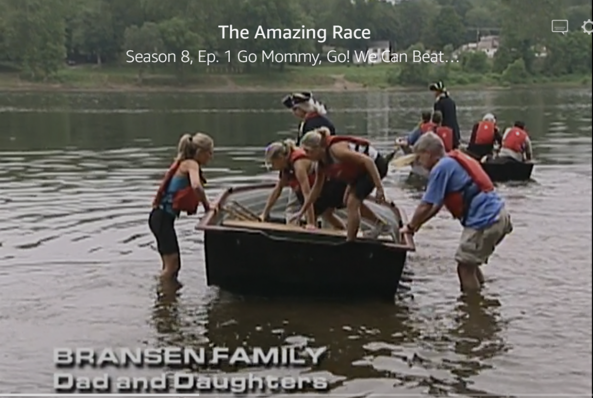 Washington Crossing on The Amazing Race, Season 8, Leg 1, September 27, 2005