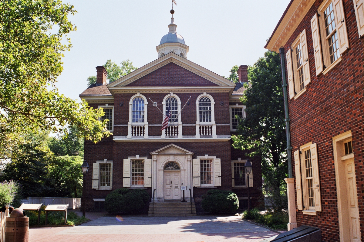 Carpenters' Hall - Meeting Place of the First Continental Congress and Birthplace of the American Identity