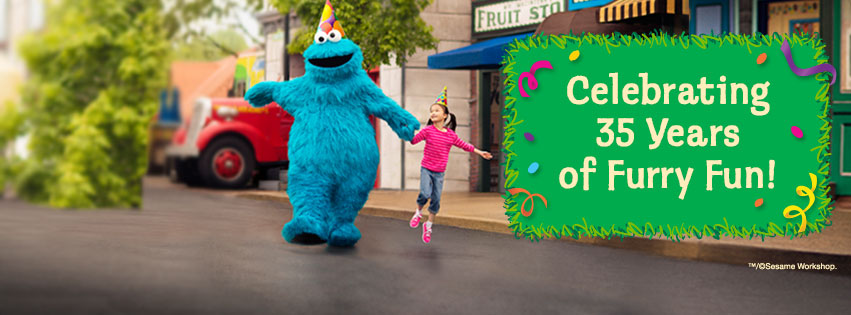 Sesame Place is celebrating 35 years in 2015
