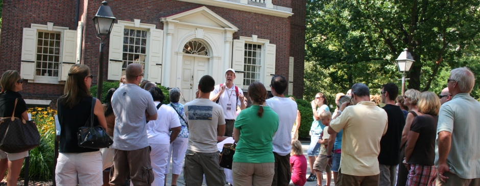 The Constitutional Walking Tour, Independence National Historical Park, Tours of Historic Philadelphia, Carpenters' Hall