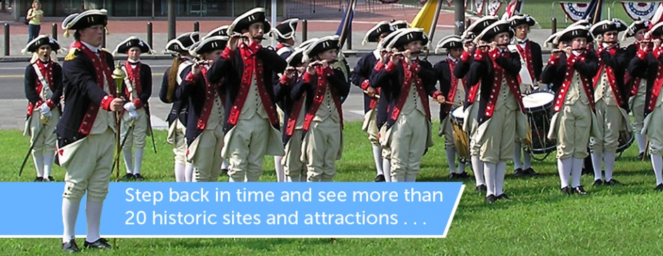 The Constitutional Walking Tour, Independence National Historical Park, Tours of Historic Philadelphia, Philadelphia Sightseeing tours