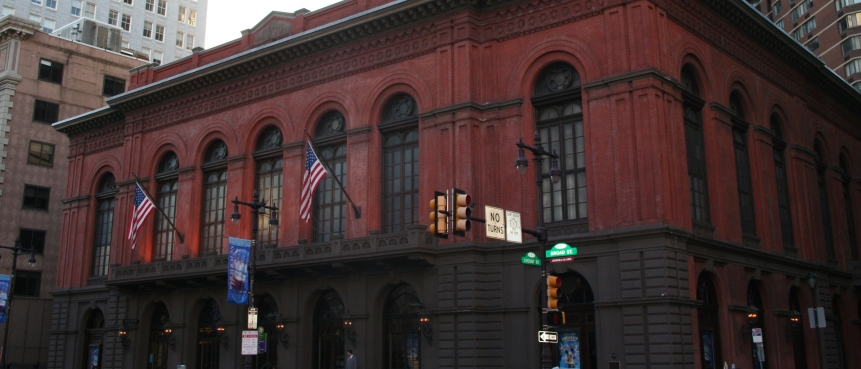 Academy of Music, The Constitutional Bus Tour, Group Tours of Historic Philadelphia