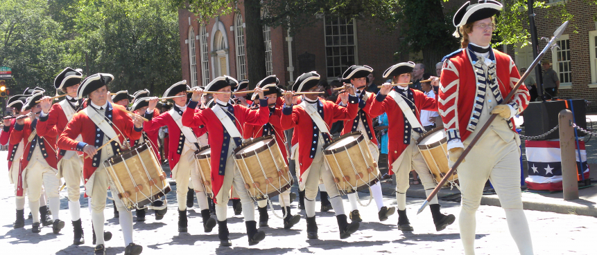 4th of July, The Constitutional Walking Tour, Independence National Historical Park, Tours of Historic Philadelphia