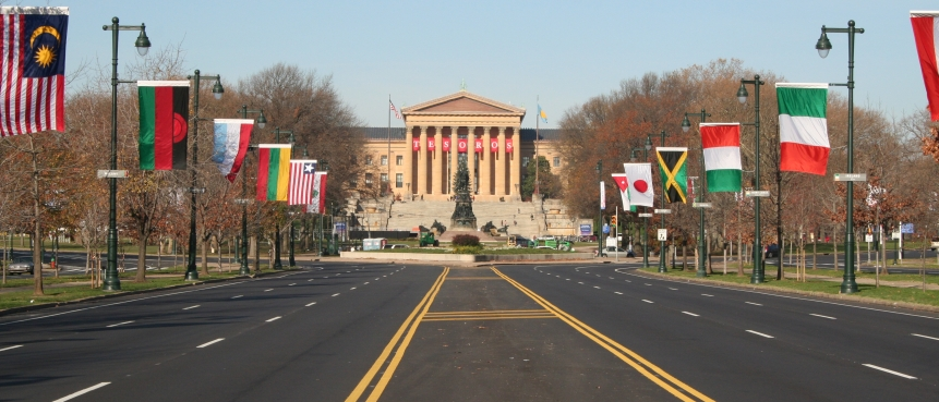 Benjamin Franklin Parkway, The Constitutional Bus Tour, Group Tours of Historic Philadelphia