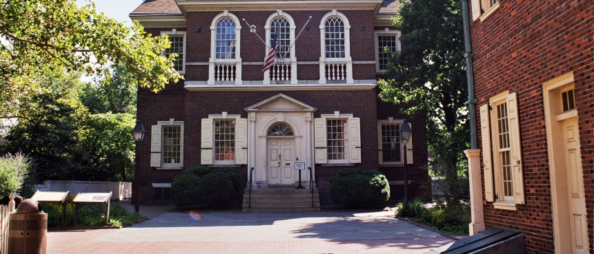 Carpenters' Hall, The Constitutional Walking Tour, Declaration of Rights and Grievances