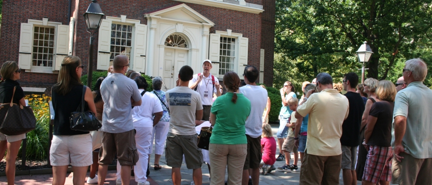 Carpenters' Hall, The Constitutional Walking Tour, Independence National Historical Park, Group Tours of Historic Philadelphia