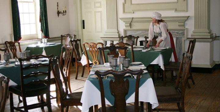 The Constitutional Walking Tour, Independence National Historical Park, Tours of Historic Philadelphia, City Tavern