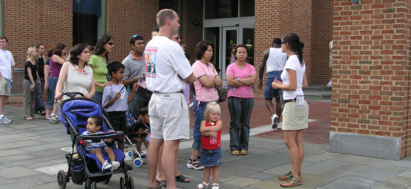 Family Friendly, The Constitutional Walking Tour, Independence National Historical Park, Tours of Historic Philadelphia