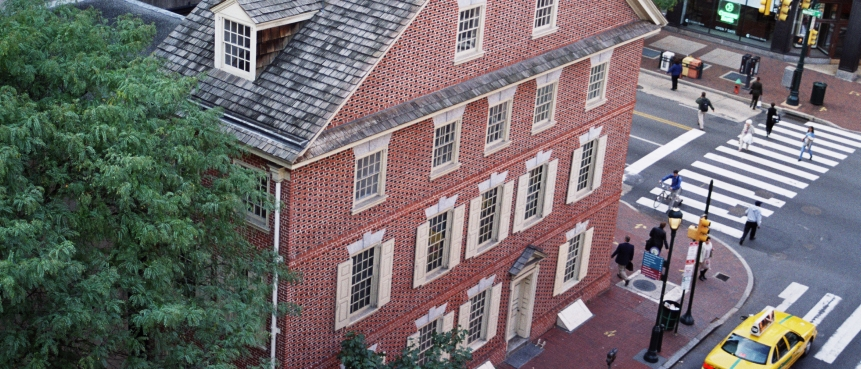 Declaration House, Graff House, Declaration of Independence, The Constitutional Walking Tour