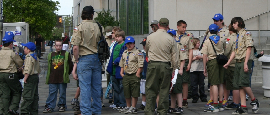 Boy Scouts, Girl Scouts, Scavenger Hunt, The Constitutional Walking Tour, Independence National Historical Park, Field Trips