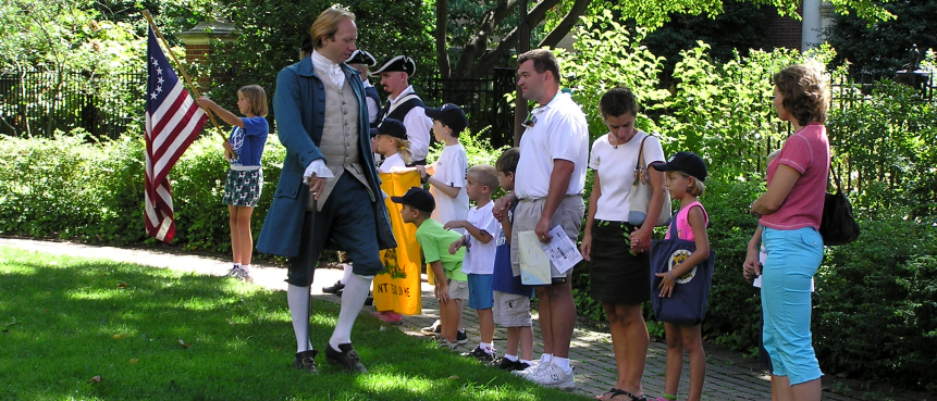 VIP Tour, Private Tour, The Constitutional Walking Tour, Independence National Historical Park, Tours of Historic Philadelphia