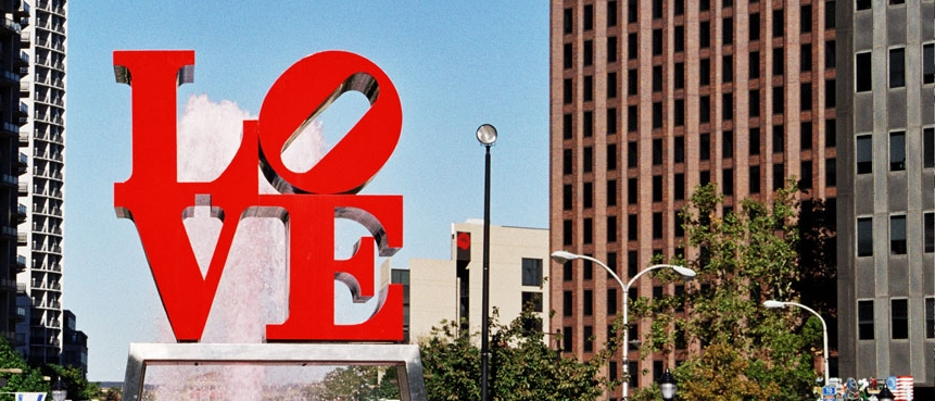 The Love Statue, The Constitutional Walking Tour, Independence National Historical Park, Group Tours of Historic Philadelphia