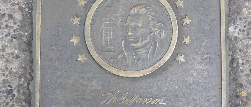 Thomas Jefferson, Signers Walk, The Constitutional Walking Tour, Independence National Historical Park, Field Trips of Historic Philadelphia