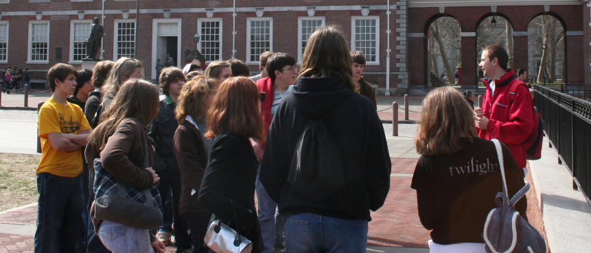 Scavenger Hunt, The Constitutional Walking Tour, Independence Hall, Field Trips of Historic Philadelphia