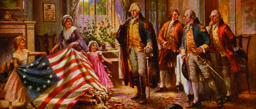 The Constitutional Walking Tour, Tours of Historic Philadelphia, Betsy Ross, American Flag, George Washington