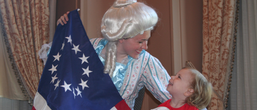 Betsy Ross, American Flag, VIP Tour, The Constitutional Walking Tour, Tours of Historic Philadelphia