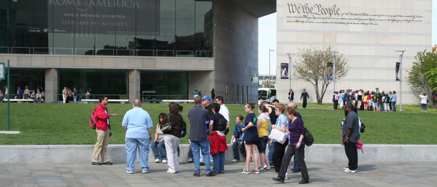 The Constitutional Walking Tour, Philly's Best Sightseeing Tour, Historic Philadelphia, Guided Tours