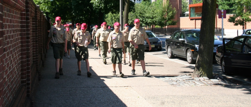 Boy Scouts, Cub Scouts, The Constitutional Walking Tour, Independence National Historical Park, Field Trips of Historic Philadelphia