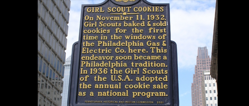 Girl Scout Cookies, The Constitutional Walking Tour, Independence National Historical Park, Field Trips of Historic Philadelphia